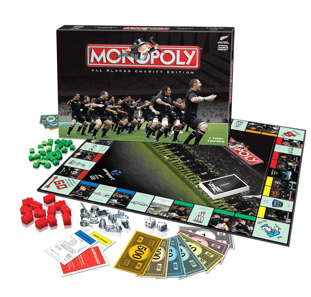 All Blacks Monopoly released