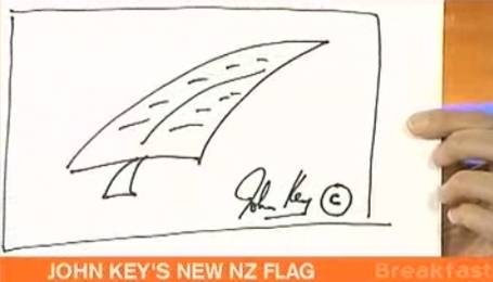 John Key's doodle auction closes at 7:30PM tonight.