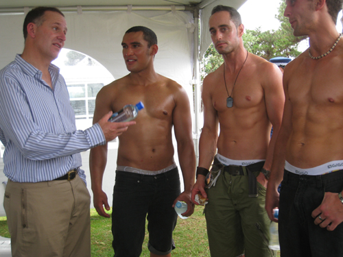 Caption Competition: John Key at the Big Gay Out