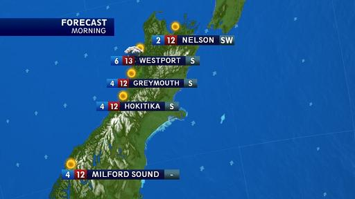 Tuesday Weather Map.Tvnz S New Logical Weather Forecast Launches Tuesday Dan News