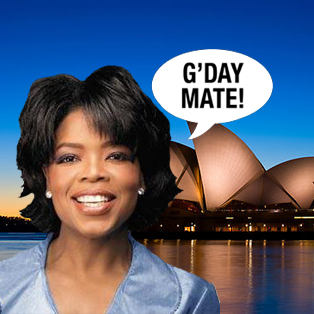 Sydney Oprah House: Oprah to broadcast from Sydney